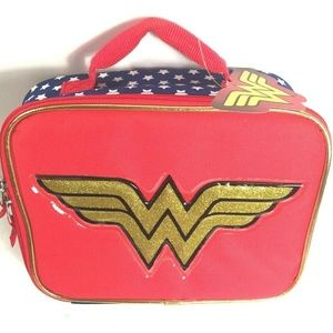 DC Comics Wonder Woman Lunch Box NEW With Tags